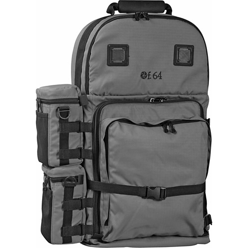 f.64 BPX Extra Large Backpack (Gray) BPXG B&H Photo Video