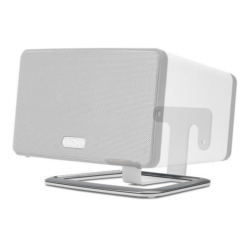 flexson desk stand for sonos play 3 white flxp3ds1011 b h. Black Bedroom Furniture Sets. Home Design Ideas
