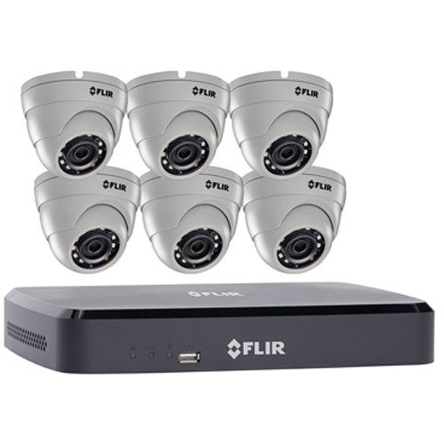 Flir Dnr110 Series 8 Channel Nvr With 1tb Hdd And 6 Dn1181e63