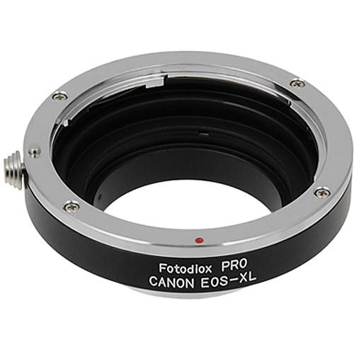 fotodiox pro lens mount adapter canon eos efs to eos xl pro b h rh bhphotovideo com