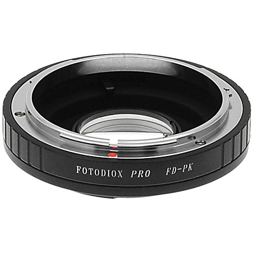 d45642aa0a8d5 FotodioX Pro Lens Mount Adapter for Canon FD Lens to Pentax K Mount Camera