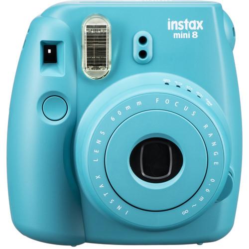 fujifilm instax mini 8 instant film camera tile blue. Black Bedroom Furniture Sets. Home Design Ideas