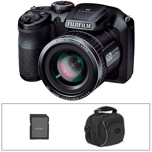 Fujifilm FinePix S4800 Digital Camera Basic Kit BampH Photo