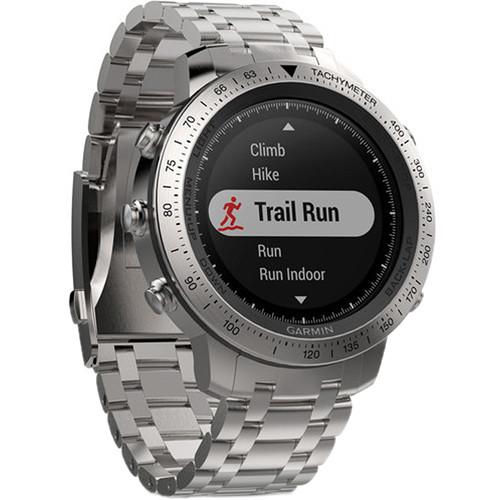 Garmin fenix Chronos Multi-Sport GPS Watch 010-01957-02 B&H
