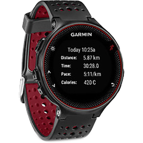 Garmin forerunner 235 gps running watch 010 03717 70 b h photo for Watches garmin
