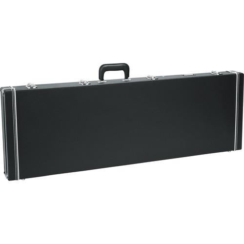 gator cases gw bass bass guitar deluxe wood case black gw bass. Black Bedroom Furniture Sets. Home Design Ideas