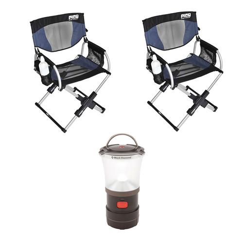 GCI Outdoor Pico Arm Chair Directoru0027s Chairs U0026 LED Camp Lantern