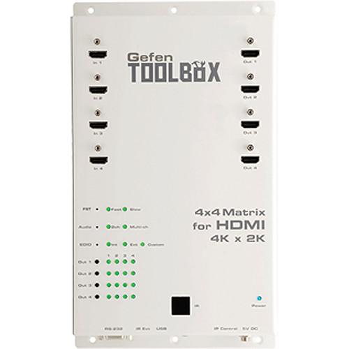 Gefen Toolbox 4x4 Matrix For Hdmi 4k X 2k White Gtb