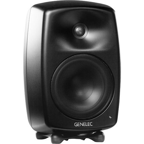Genelec G Four 90W Active Speaker (Black) G4AMM B H Photo Video 02d2527f2c48e
