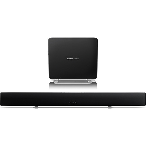 harman kardon home theatre. harman kardon sabre sb35 ultra-slim wireless home theater system with soundbar \u0026 compact subwoofer theatre