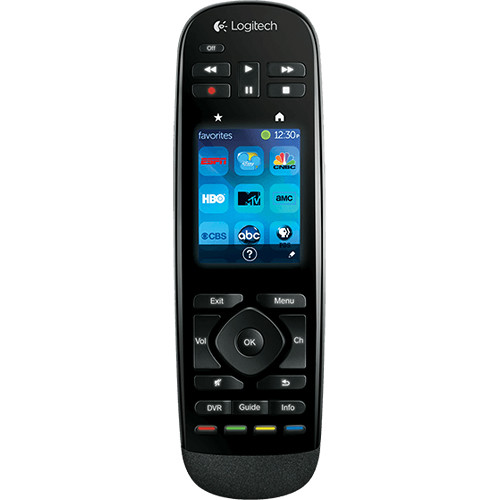 harmony logitech harmony touch universal remote 915 000198 b h. Black Bedroom Furniture Sets. Home Design Ideas