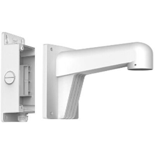 Hikvision Wms Wall Mount With Short Junction Box White