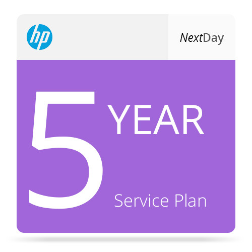 hp 5 year next business day service with computrace