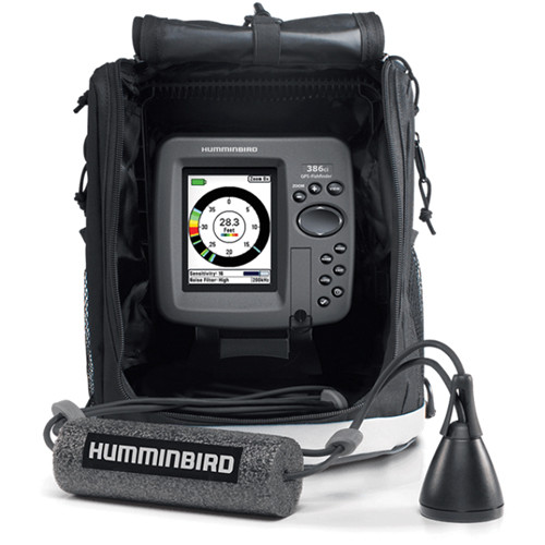 humminbird ice 386ci combination gps/sonar fishfinder 409390-1, Fish Finder
