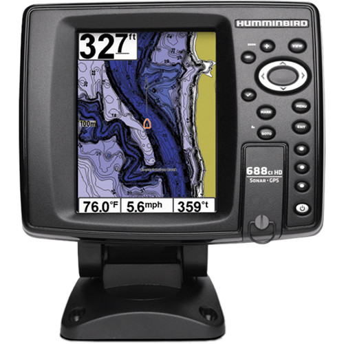humminbird 698ci hd si combo fishfinder 409470-1 b&h photo video, Fish Finder