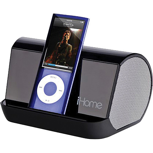 ihome ihm9 portable speaker system for ipod mp3 player. Black Bedroom Furniture Sets. Home Design Ideas