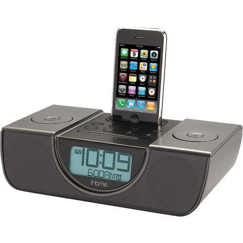ihome ip42gvc dual alarm fm clock radio for your ip42g b h photo. Black Bedroom Furniture Sets. Home Design Ideas
