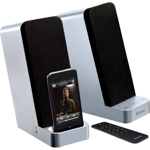 IHome IP71 Stereo Computer Speakers With IPod Dock IP71 B&H
