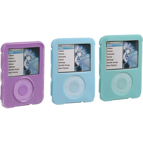 iSkin Duo Case- for iPod nano 3rd Generation, Pack of 3 ...