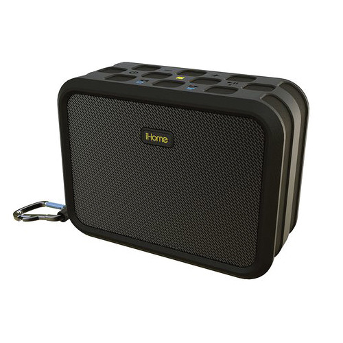 Ihome ibn6 waterproof portable bluetooth wireless stereo for Ihome speaker