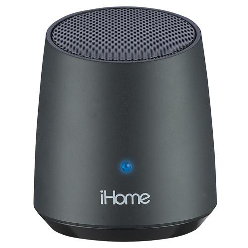 IHome IBT69 Bluetooth Rechargeable Mini Speaker (Black) IBT69BC