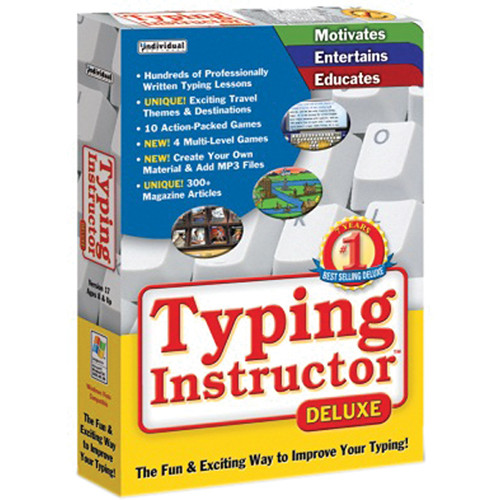Individual Software: Individual Software Typing Instructor Deluxe 17.3 TYPINSTDEL17