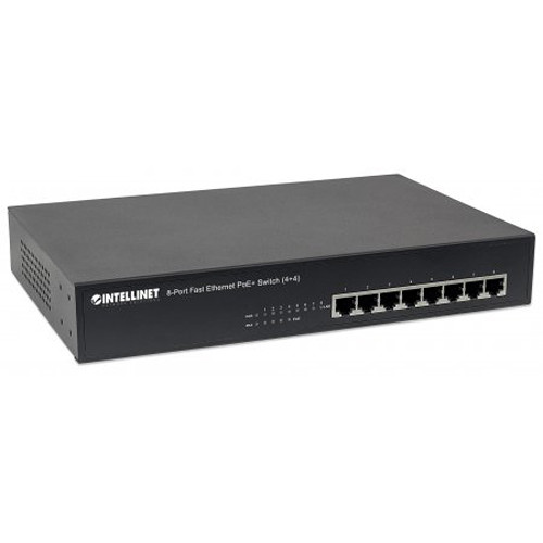 Intellinet 8 port fast ethernet poe switch 561075 b h photo - 8 port fast ethernet switch ...