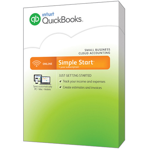 Intuit QuickBooks Online Simple Start Online Only - Intuit invoicing online