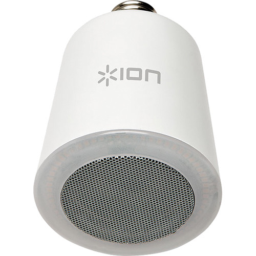 ION Audio Sound Shine Wireless Light Bulb Speaker ISP38 B&H