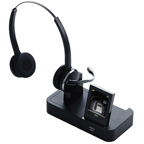 Jabra Pro 9460 Duo Wireless Headset With Touchscreen For: Jabra PRO 9460 Duo Wireless Headset 9460-69-707-105 B&H Photo