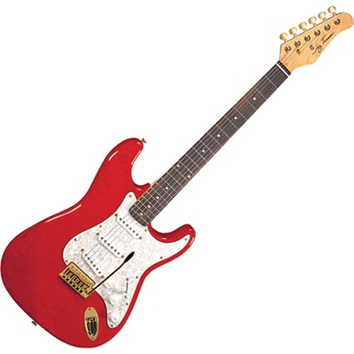 jay turser jt 300qmt 300 series electric guitar jt 300qmt tr b h. Black Bedroom Furniture Sets. Home Design Ideas