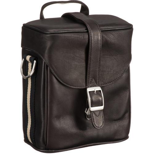 Jill E Designs Jack Hudson Leather Camera Bag Brown