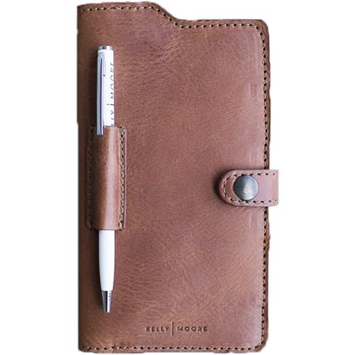 Kelly Moore Bag Passport Wallet Full Grain Leather Apache Brown