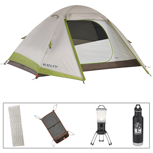 Kelty Gunnison 2-Person Tent Kit with Sleeping Pad  sc 1 st  Bu0026H & Kelty Gunnison 2-Person Tent Kit with Sleeping Pad Bu0026H Photo