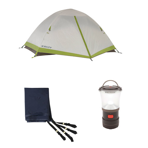 Kelty Salida 2-Person Tent u0026 Footprint Kit  sc 1 st  Bu0026H : kelty salida 2 tent footprint - memphite.com