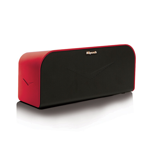klipsch kmc 1 portable wireless music system red 1060062 b h. Black Bedroom Furniture Sets. Home Design Ideas