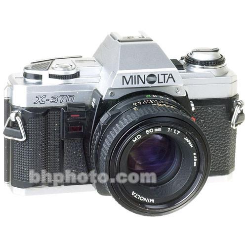 used konica minolta minolta x 370 35mm slr manual focus b h rh bhphotovideo com Konica Minolta Camera Parts Camera Konica Minolta Support