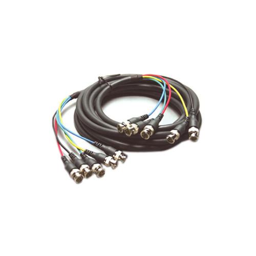 Kramer C-5BM/5BM 5 BNC RGBHV Mini Coax Cable (35\') C-5BM/5BM-35