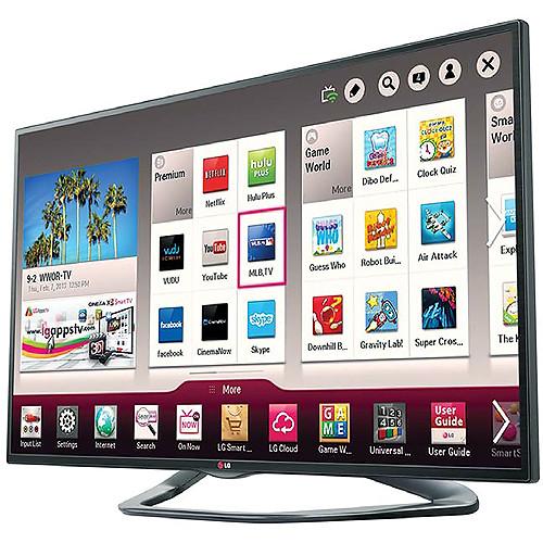 Lg 55 Quot La6200 Full Hd 1080p Cinema 3d Smart Led Tv 55la6200