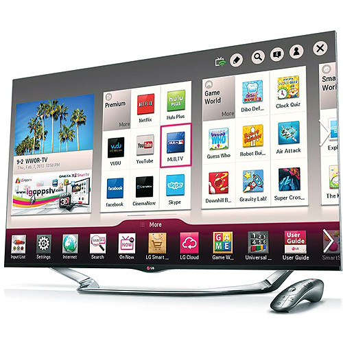 "LG 60"" LA8600 Full HD 1080p Cinema 3D Smart LED"