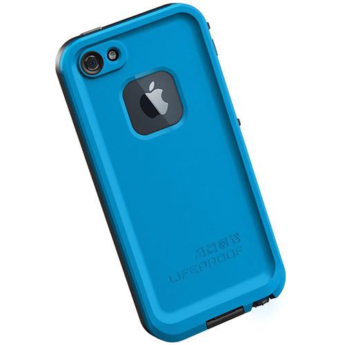 blue lifeproof iphone 5 case