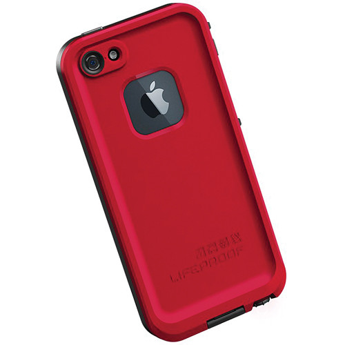 LifeProof fr  Case for iPhone 5 (Red   Black) 1301-05 B H Photo efbf9ea15e33