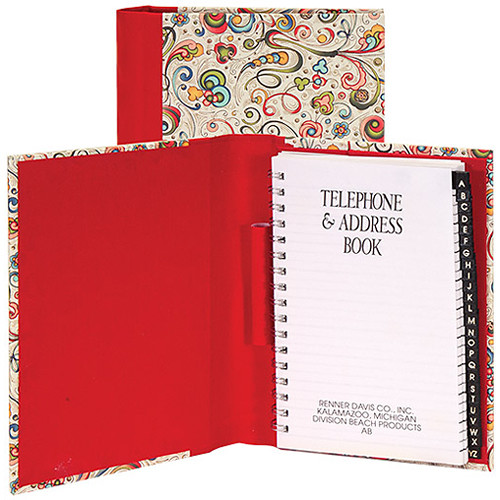 lineco address book kit with printed tabbed index bbhk171 15 b h