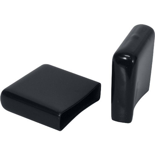Lowell Manufacturing End Caps For Cable Ladders (Black) CLH-EC