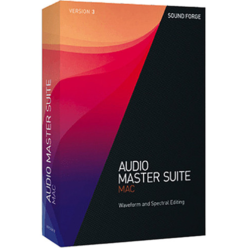 MAGIX Entertainment Audio Master Suite Mac 3 ANR007709EDU-U1 B&H