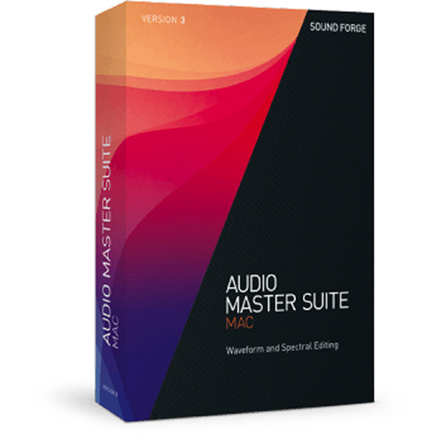 Magix sound forge audio studio 12 editing software, single license.