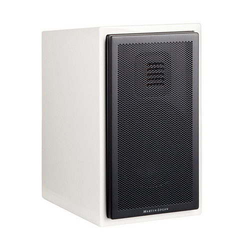 MartinLogan Motion 15 2 Way Bookshelf Speaker Single Gloss White