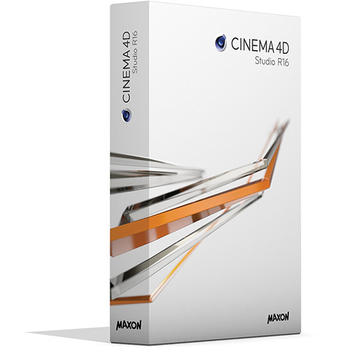 New Cinema 4D Studio R16 Software