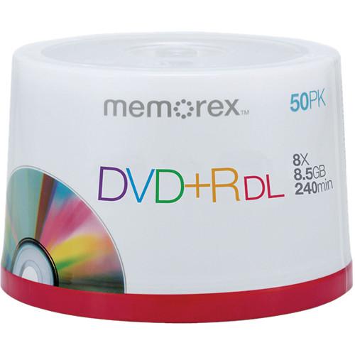 memorex dvd r double layer discs 05732 b h photo video. Black Bedroom Furniture Sets. Home Design Ideas
