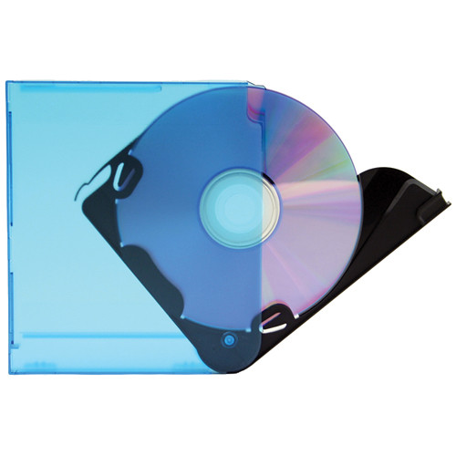 Merit Line Merax Blade Colored CD DVD Cases 10 Pack Assorted Colors